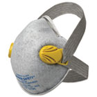 KCC64560 - R20 P95 Particulate Respirator w/Nuisance Level Organic Vapor Relief,Yellow,80CT