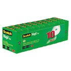 "MMM810P10K - Magic Tape Value Pack, 3/4"" x 1000"", 1"" Core, 10/Pack"