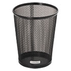 ROL62557 - Nestable Jumbo Wire Mesh Pencil Cup, 4 3/8 dia. x 5 2/5, Black