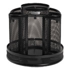 ROL1773083 - Wire Mesh Spinning Desk Sorter, Black