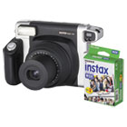 FUJ600015500 - Instax Wide 300 Camera Bundle, 16 MP, Auto Focus, Black