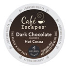 GMT6802 - Café Escapes Dark Chocolate Hot Cocoa K-Cups, 24/Box