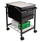 AVTFS2BHD - Heavy-Duty File Shuttle, 17 1/8w x 14 1/4d x 20h, Black