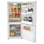 AVAFFBM102D0W - Bottom Mounted Frost-Free Freezer/Refrigerator, 10.2 Cubic Feet, White