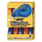 "BICWOTAP10 - Wite-Out EZ Correct Correction Tape, Non-Refillable, 1/6"" x 472"", 10/Box"