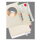 TAB68387 - Self-Adhesive Label/File Folder Protector, Strip, 2 x 11, Clear, 100/Pack