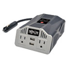 TRPPV400USB - 400W AC Inverter with USB Charging; 2 Outlets, 2 USB Ports, Silver