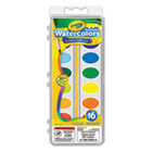 CYO530555 - Washable Watercolor Paint, 16 Assorted Colors