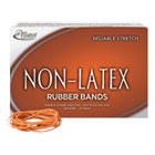 ALL37196 - Non-Latex Rubber Bands, Sz. 19, Orange, 3-1/2 x 1/16, 1440 Bands/1lb Box