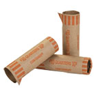 CTX20025 - Preformed Tubular Coin Wrappers, Quarters, $10, 1000 Wrappers/Box