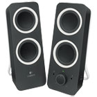 LOG980000800 - Z200 Multimedia 2.0 Stereo Speakers, Black