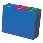 PFX40144 - Top Tab File Guides, Monthly/Jan-Dec, 1/3 Tab, Polypropylene, Letter, 12/Set