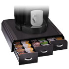 EMSTRY01BLK - Anchor 36 Capacity Coffee Pod Drawer, 13 23/50 x 12 87/100 x 2 18/25
