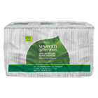 SEV13713PK - 100% Recycled Napkins, 1-Ply, 11 1/2 x 12 1/2, White, 250/Pack