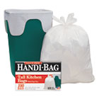 WBIHAB6FK100 - Super Value Pack Trash Bags, 13gal, 0.6mil, 23 3/4 x 28, White, 100/Box