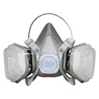 MMM52P71 - Dual Cartridge Respirator Assembly 52P71, Organic Vapor/P95, Medium