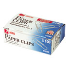 ACC72360 - Premium Paper Clips, Smooth, #1, Silver, 100/Box, 10 Boxes/Pack
