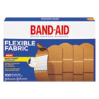 "JOJ4444 - Flexible Fabric Adhesive Bandages, 1"" x 3"", 100/Box"