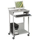 BLT25983 - Max Stax Dual Purpose Printer Stand, Three-Shelf, 25w x 20d x 42-1/2h, Gray