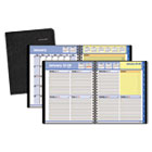 AAG760105 - QuickNotes Weekly/Monthly Appointment Book, 8 x 9 7/8, Black, 2018