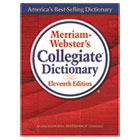 MER8095 - Merriam-Webster's Collegiate Dictionary, 11th Edition, Hardcover, 1,664 Pages