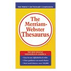 MER850 - The Merriam-Webster Thesaurus, Dictionary Companion, Paperback, 800 Pages
