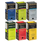 BTC15577 - Assorted Tea Packs, Six Flavors, 28/Box, 168/Carton
