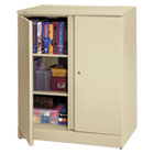 BSXC184236L - Easy-to-Assemble Storage Cabinet, 36w x 18d x 42-3/4h, Putty