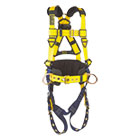 DBS1101656 - Full-Body Harness, Tongue Buckles, Side/Back D-Rings, X-Large, 420lb Capacity