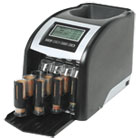 RSIFS44P - Fast Sort FS-44P Digital Coin Sorter, Pennies Through Quarters, Black/Silver