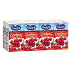 OCS00322 - Aseptic Juice Boxes, Cranberry, 4.2oz, 40/Carton