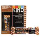 KND17256 - Plus Nutrition Boost Bar, Peanut Butter Dark Chocolate/Protein, 1.4 oz, 12/Box
