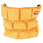 RCP264200YW - Brute Caddy Bag, 12 Pockets, Yellow