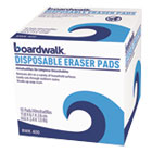 BWK400BX - Disposable Eraser Pads, 10/Box