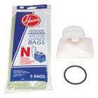 HVR4010050N - Bag Adapter Kit, White/Black