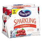 OCS22718 - Sparkling Cranberry Juice, 8.4 oz Can, 6/Pack