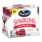 OCS22714 - Sparkling Juices, CranRaspberry, 8.4 oz Can, 6/Pack