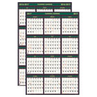 HOD390 - Recycled 4 Seasons Reversible Business/Academic Wall Calendar, 24x37, 2016-2017