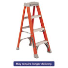"DADFS1504 - Fiberglass Heavy Duty Step Ladder, 50"", 3-Step, Orange"