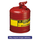 JUS7150100 - Safety Can, Type I, 5gal, Red