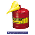 JUS7150110 - Safety Can, Type I, 5gal, Red, With Funnel