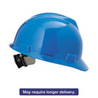 MSA475359 - V-Gard Hard Hats, Ratchet Suspension, Size 6 1/2 - 8, Blue