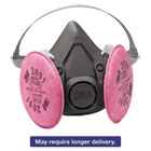 MMM6191 - Half Facepiece Respirator 6000 Series, Reusable, Small