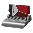 FEL5216901 - Quasar Electric Comb Binding System, 16 7/8 x 15 3/8 x 5 1/8, Metallic Gray