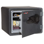 FIRKY09131GREL - One Hour Fire and Water Safe with Electronic Lock, 2.8 cu. ft., Graphite