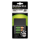 DURCEF15 - ION SPEED 8000 Professional Charger, Includes 2 AA and 2 AAA NiMH Batteries
