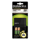 DURCEF7 - ION SPEED 500 Starter Kit Charger, Includes 2 AA NiMH Batteries