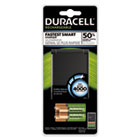 DURCEF27 - ION SPEED 4000 Hi-Performance Charger, Includes 2 AA and 2 AAA NiMH Batteries