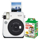 FUJ600016064 - Instax Mini 70 Bundle, Auto Focus, White