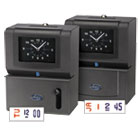 LTH2121 - Heavy-Duty Time Clock, Mechanical, Charcoal